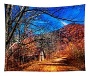 Along The Country Lane Tapestry