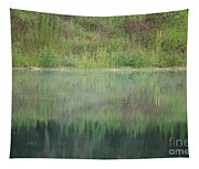 Along The Edge Of The Pond Tapestry