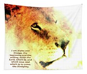 Alpha And Omega Tapestry
