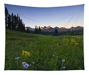 Alpine Dawn Tapestry