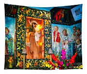 Altar Painted By Famous John Walach Tapestry
