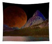Alternate Universe Glacier Park Tapestry