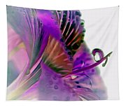 Amaryllis Butterfly II Tapestry