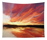 Amazing Sunset Tapestry