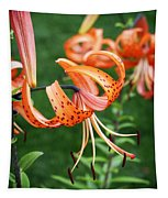 Amazing Tiger Lily Tapestry