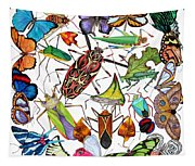 Amazon Insects Tapestry