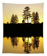 Amber Sunset Tapestry