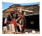 America Water Wheel Tapestry
