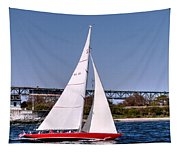American Eagle Newport Ri Tapestry