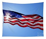 American Flag Fort Sumter Tapestry