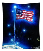 American Flag. The Star Spangled Banner Tapestry