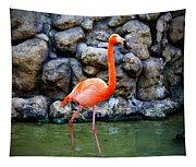 American Flamingo Tapestry
