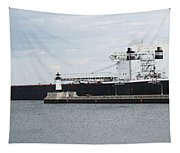 American Integrity Ship Tapestry