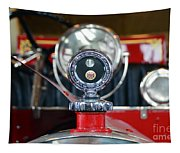 American Lafrance Vintage Fire Truck Gas Cap Tapestry