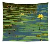 American Lotus Tapestry