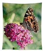American Painted Lady Tapestry
