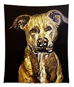 American Pitbull Tapestry