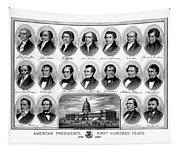 American Presidents First Hundred Years Tapestry