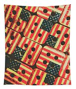 American Quilting Background Tapestry