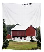 American Red Barn II Indiana Tapestry