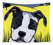 American Staffy Tapestry