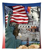 American Symbolicism Tapestry