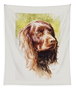 American Water Spaniel Tapestry