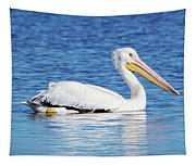 American White Pelican Tapestry