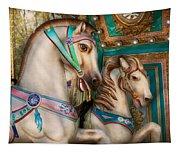 Americana - Carousel Beauties Tapestry