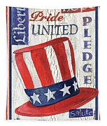 Americana Patriotic Tapestry