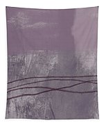 Amethyst 1- Abstract Art By Linda Woods Tapestry