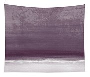 Amethyst Shoreline- Abstract Art By Linda Woods Tapestry