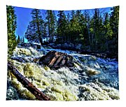 Amincon River Rootbeer Falls Tapestry
