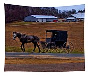 Amish Buggy Tapestry