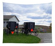 Amish Country Carts Autumn Tapestry