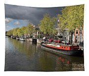 Amsterdam Prinsengracht Canal Tapestry