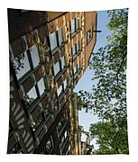 Amsterdam Spring - Fancy Brickwork Glow - Right Vertical Tapestry