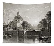 Amsterdam, View On The Singel. From The Tapestry