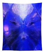 An Alien Visage  Tapestry