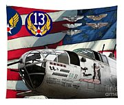 An American B-25c Pof Tapestry
