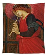 An Angel Playing A Flageolet Tapestry