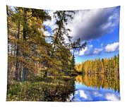 An Autumn Day At Woodcraft Camp Tapestry