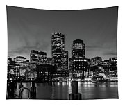 An Evening In Boston Tapestry