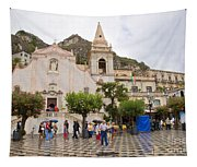 An Iffy Day In Taormina Tapestry
