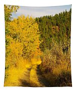 An October Path   Tapestry