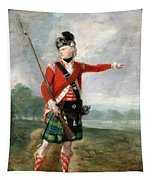 An Officer Of The Light Company Of The 73rd Highlanders Tapestry