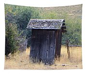 An Old Outhouse  Tapestry