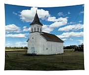 An Old Wooden Church Tapestry