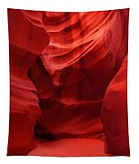 An Orange Chamber Antelope Canyon Tapestry