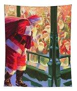 An Unforeseen Encounter Tapestry